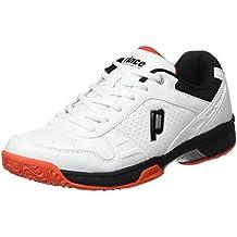Prince Warrior Lite M - Zapatillas para hombre, color negro, talla 44.5