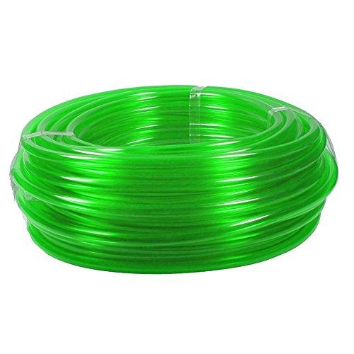 PVC Schlauch mit vielfältigen Einsatzmöglichkeiten Garten-Schlauch aus deutscher Markenfertigung Wasser-Schlauch UV-Stabil Luft-Schlauch, Farbe:Grün, Innen-/Außendurchmesser:6/9 mm