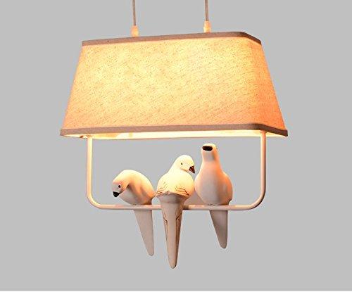 CLG-FLY country americano lampadario bird garden restaurant e bar nel Nord Europa e Mediterraneo orientale (Blu Icicle)
