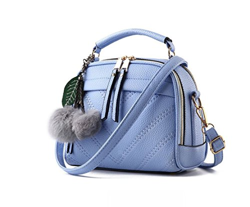 pandasupermarket, Borsa a zainetto donna Light blue