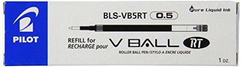 pilot-lot-de-12-recharge-pour-stylos-rollers-v-ball-5-rt-bleu