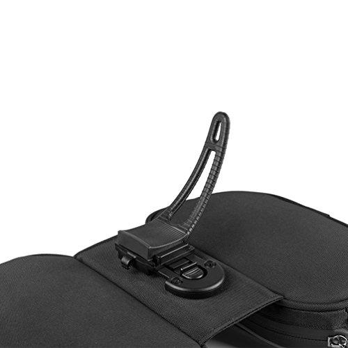 RockBros MTB Rahmentaschen Fahrradrahmentaschen Mit Handytaschen für Bild Shirm unter 5.7 Zoll Grün
