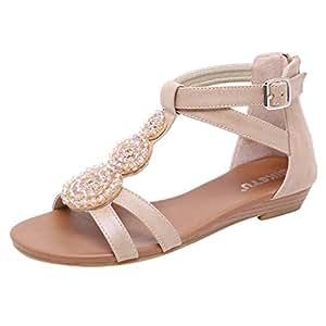 modische drei farben sandalen damen