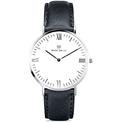 Marc Brüg Men's Minimalist Watch Davos 41 Hygge
