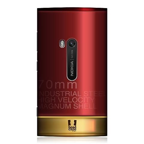 Head Case Designs Schutzhülle (für Nokia Lumia 920, Gewehrkugel-Optik)