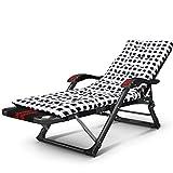 Eeayyygch Tragbare Falten Strand Couch Mittagspause Büro Einzelne einfache unsichtbare Nickerchen Bett (Farbe: Druck 1) (Farbe : Printing -3, Größe : -)