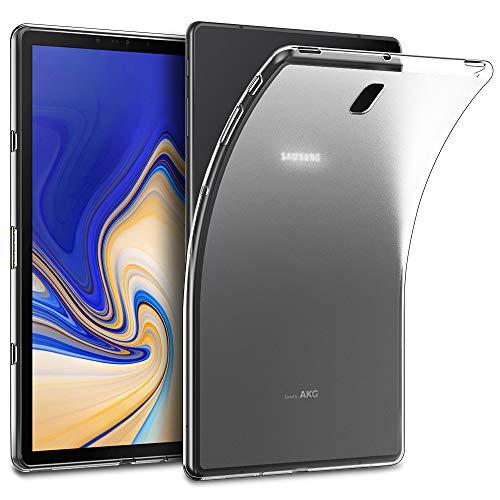 EasyAcc Custodia per Samsung Galaxy Tab S4 10.5, Morbido TPU Cover Cristallo limpido Trasparente Slim Anti Scivolo Protezione Posteriore Case Antiurto per Samsung Galaxy Tab S4 10.5 SM-T830/ T835