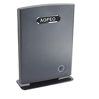Agfeo 6101136 DECT IP-Basis Reichweite 50 m schwarz