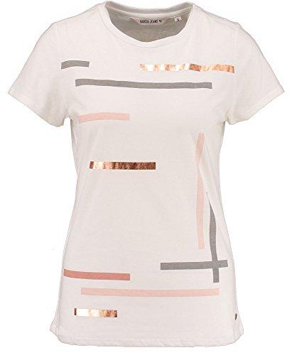 Garcia Damen T-Shirt off white 53