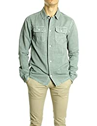 Scotch & Soda Camisa Worker Loneta Verde