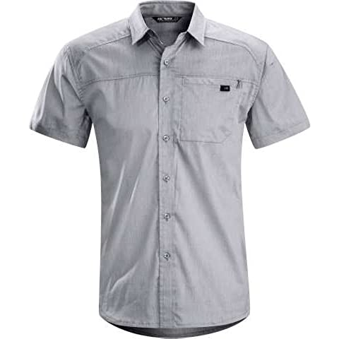 Camicia Schöffel Arcteryx Men Frontera pantaloncini maniche lunghe Camicia Camicia da uomo Carrera, XL