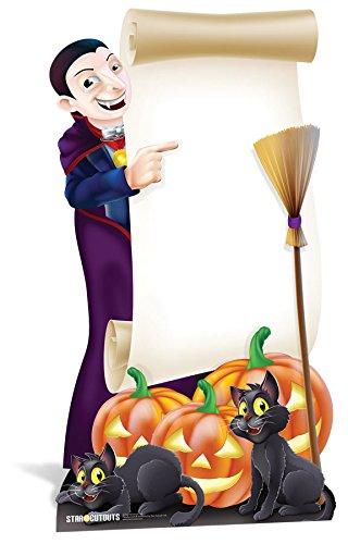 Star Einbauöffnungen LTD Halloween-Schild (Karton Ausschnitte Für Halloween)