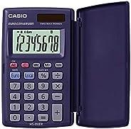 CASIO HS-8VER calcolatrice tascabile - Display a 8 cifre ed euroconvertitore