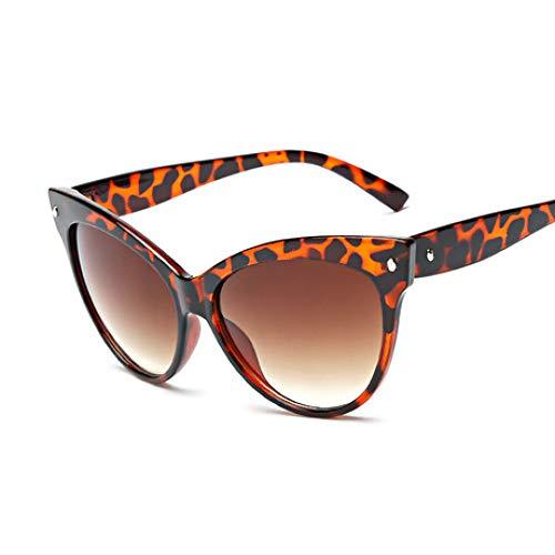 SPFAZJ Sonnenbrillen Sprenggläser Trend Cat Eye Sonnenbrillen Classic Meter Set Retro Brille