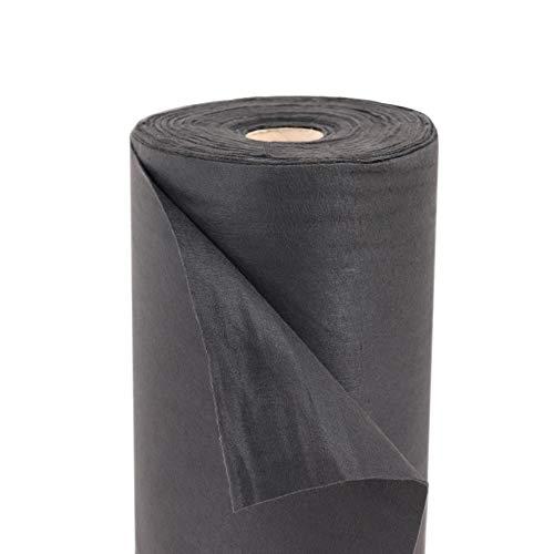 Aquagart Unkrautvlies Gartenvlies Mulchvlies Bodengewebe 190g 1m breit PES Verschiedene Mengen (25m)