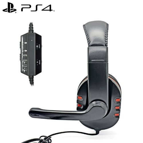 iprotect-gaming-headset-con-microfono-per-sony-playstation-4-nero