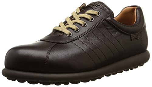 Camper Adults - Pelotas Ariel, Stringate da uomo, marrone (dark brown), 41 EU