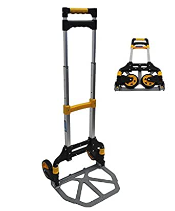 alu sackkarre klappbar 60 kg transportkarre stapelkarre handkarre karre leicht. Black Bedroom Furniture Sets. Home Design Ideas