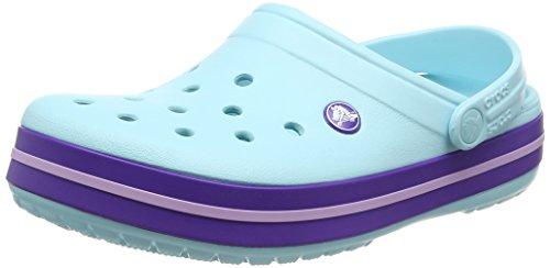 Crocs Unisex-Erwachsene Crocband Clogs, Blau (Ice Blue), 39/40 EU