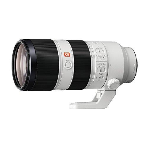 Sony G Master SEL70200GM - Objetivo para cámara (F2.8 constante para montura E, SteadyShot, antirreflectante), color blanco