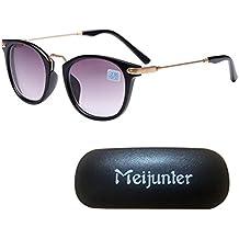 Meijunter Männer Damen Personalisierte Gläser Runde Anti-UV Kurzsichtig Brille UV400 Kurzsichtigkeit Sonnenbrille -3.00 6fPjvyZLS
