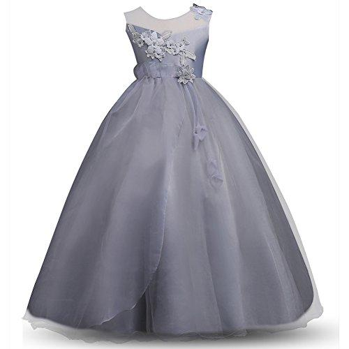 VEVESMUNDO Mädchen Sommerkleid Hochzeitskleid Abendkleid Ballkleid Cocktailkleid Brautkleid...