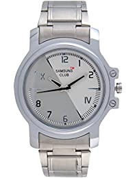 Samsuns Club Analog White & Grey Dial Men's Watch - 10