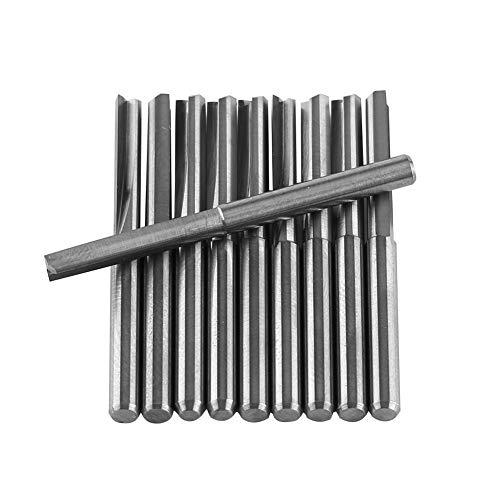 CNC Calidad HDS de fresa de desbaste D 8/mm, recubrimiento TiAlN