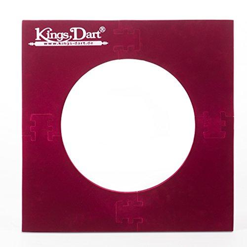 Kings Dart Auffangfeld, Standard für Dartscheiben mit Außendurchmesser von 45 cm bis 45,5 cm Standard