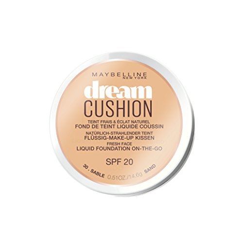 Maybelline Dream Cushion Liquid Foundation on the Go Fresh Face 14g Sand (#30) SPF20 -