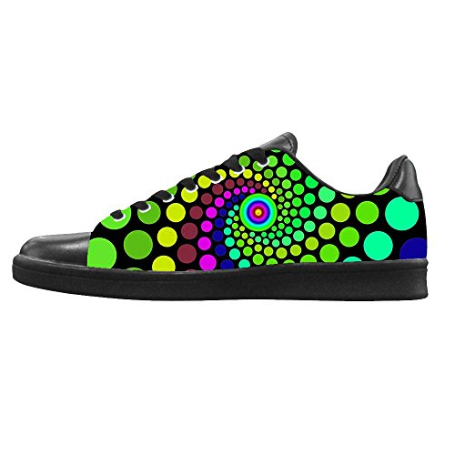 Dalliy polka dots Men's Canvas shoes Schuhe Lace-up High-top Footwear Sneakers D
