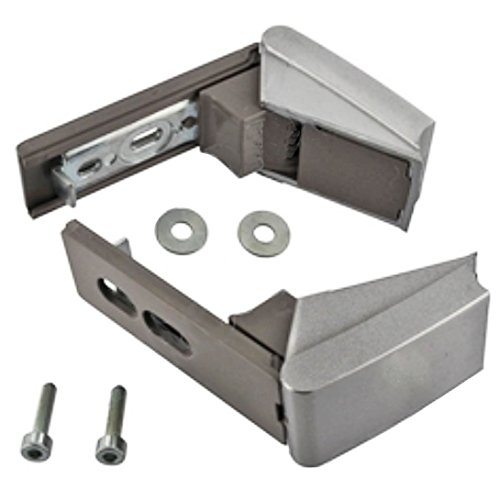 spares2go-silver-door-hinges-repair-kit-pair-for-liebherr-fridge-freezer-fitment-list-n