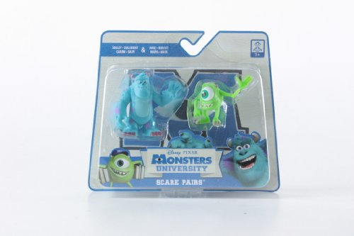 Spin Master Monsters University Scare Pairs - Personaggi Sulley & Mike
