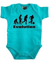 Evolution Fussball Babybody 56 - 80 div. Farben