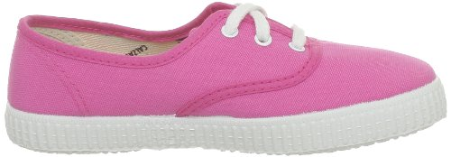 Victoria Inglesa Lona Unisex - Erwachsene Sneaker Pink (Fucsia)