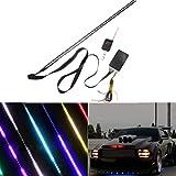 48 striscia di RGB Scanner LED Knight Rider Strobe auto sotto il cappuccio