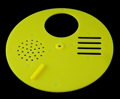 ENTRANCE REDUCER - BEEHIVE - TBH - ROTATING BEE HIVE NUC ENTRANCE DISC -YELLOW 1