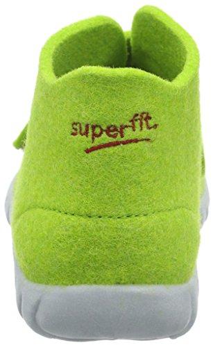 Superfit Jungen Happy 295 Hohe Hausschuhe Grün (Grün 09)