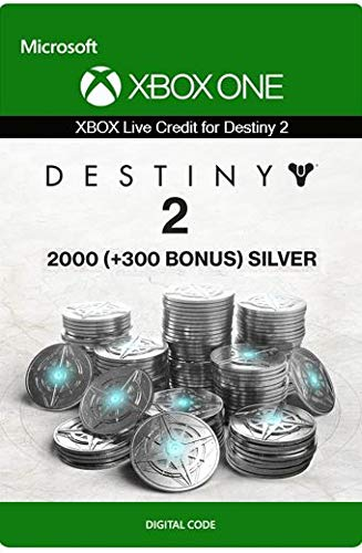 Xbox Live Guthaben für Destiny 2: 2000 (+300 Bonus) Silber Xbox One/Windows 10 PC - Download Code
