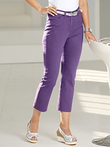 Damen 7/8 Hose Paola straight by Paola Lila