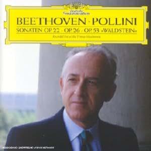 Sonates pour piano op.22, op.26 & op.53 Waldstein
