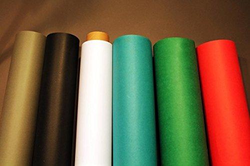 3x Hintergrundkarton Farbwahl Fotostudio Hintergrund Papierhintergrund 2,72 x 11m 155g/qm