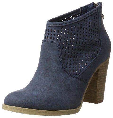 Xti Jeans Pu Ladies Ankle Boots ., Chaussures femme Bleu jean