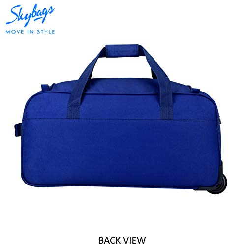 Skybags Scot Plus Polyester 64 cms Blue Travel Duffle (DFTSPE64BLU) Image 5