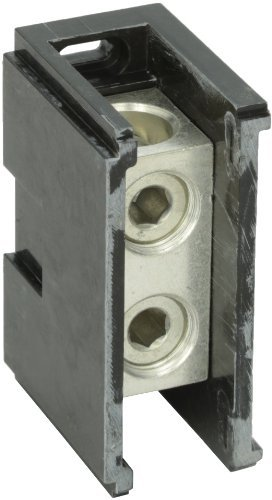 Power Distribution and Terminal Block, Connector Blok - Splicer/Reducers, 500MCM-4 AWG Line and 500MCM-4 AWG Load Side Configuration, 1.71 Width, 2.62 Height, 4.00 Length by NSI Nsi Power Distribution Blocks
