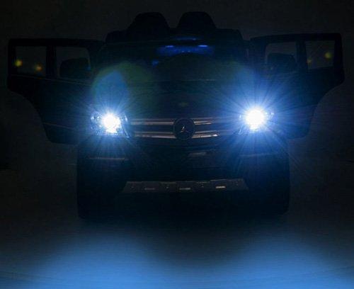 RC Auto kaufen Kinderauto Bild 5: crooza Mercedes-Benz SUV GL450 GL 450 Jeep 12V Kinderauto Kinderfahrzeug Kinder Elektroauto (Schwarz)*