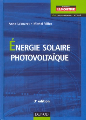 Energie solaire photovoltaque
