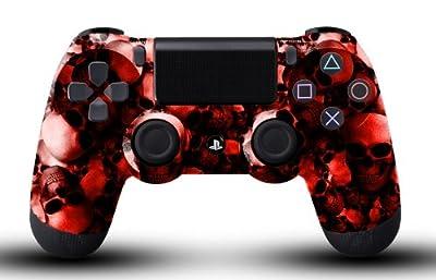 Custom PS4 Controller - Red Skullz