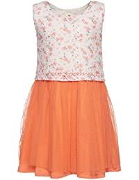 TOM TAILOR Kids Mädchen Kleid Printed Lace Dress with Tulle
