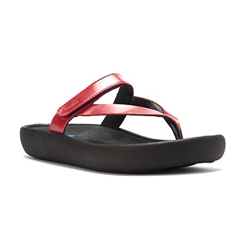 femme Wolky Red Smooth pour Move Mocassins qZRBvp